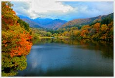 Lake Daigenta-Ko in Autumn - Photography By: JUNKO TAKAHASHI/a.collectionRF - [http://www.gettyimages.com]