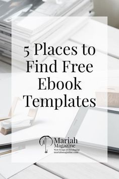 84 best ebook cover images images on pinterest content marketing 5 places to find free pdf ebook templates fandeluxe Gallery