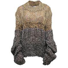 Mihaela Markovic - Boheme Jumper (£255) ❤ liked on Polyvore featuring tops, sweaters, bohemian tops, boho tops, boho chic tops, formal tops and bohemian style tops