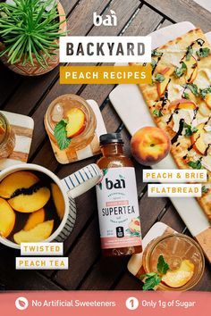 Backyard Recipes Relax in your backyard with this twisted peach tea cocktail made with Bai paired beautifully with this delicious peach and prosciutto flatbread. Source by abeachgirl Fruits And Vegetables List, High Fiber Vegetables, High Fiber Fruits, Cooking Vegetables, Prosciutto, Superfood, Fruit Slices, Fruit Names, Beer Bread