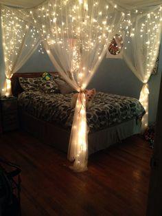 Led string lights decor girls bedroom 16 - Decoration World