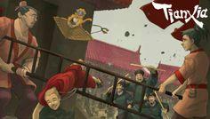 Rezension: Tianxia - Blood, Silk & Jade