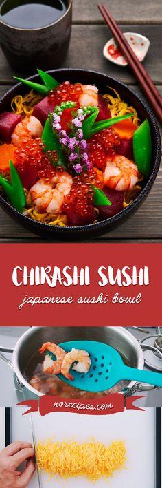 Rice Vinegar, Japanese Food, Japanese Recipes, Using Chopsticks, Sushi At Home, Carrot Greens, Sushi Bowl, How To Make Sushi
