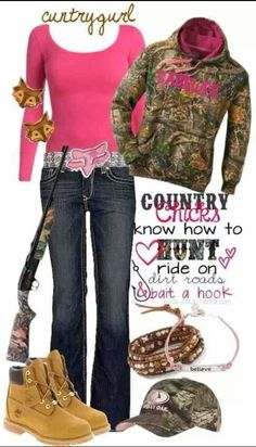 Camo Country Girl Outfit