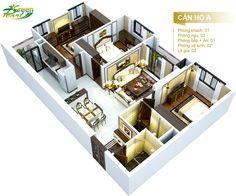 Căn hộ A, Chung cư Green Pearl  dự án Green Pearl 378 Minh Khai, Vĩnh Tuy, Hai Bà Trưng, Hà Nội.  Hotline : 0969 39 4143