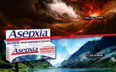 Primera version de la publicidad para aspxia