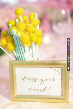 dress your drink sign | CHECK OUT MORE IDEAS AT WEDDINGPINS.NET | #weddingfavors