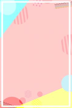Pastel Background Wallpapers, Cute Pastel Wallpaper, Cute Backgrounds, Cute Wallpapers, Kids Background, Poster Background Design, Geometric Background, Background Patterns, Yellow Background