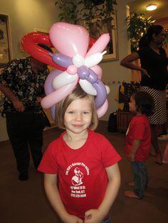 Balloon hat.