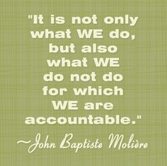 """accountability quotes 