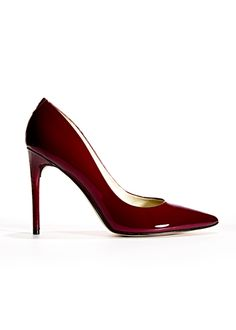 mulberry patent pumps