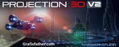 Advanced tool for camera projection mapping and photo parallax animation in After Effects