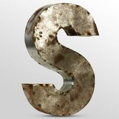 Small Rustic Metal Letters Large Metal Letter G Galvanized Metal Walltheshabbystore