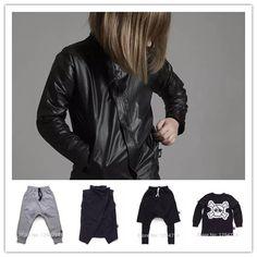 $14.55 (Buy here: https://alitems.com/g/1e8d114494ebda23ff8b16525dc3e8/?i=5&ulp=https%3A%2F%2Fwww.aliexpress.com%2Fitem%2F2016-autumn-winter-new-nununu-kids-harem-pants-skull-t-shirts-jackets-coat-baby-boy-clothes%2F32713379109.html ) 2016 autumn winter new nununu kids harem pants skull t shirts jackets coat baby boy clothes vestidos children brand clothes for just $14.55