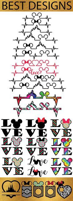643 DISNEY Svg Disney Cut Files Svg Disney Bundle Mickey &
