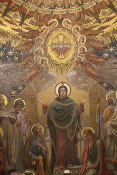 pentecostes virgen maria