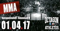 1. april slår vi døren op til Danmarks bedste MMA event og du er inviteret! #mmaevent