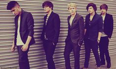 Zayn. Louis(with glasses). Niall. Harry. Liam