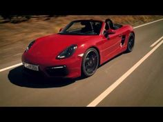 The new Boxster GTS - freedom behind the wheel