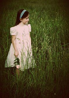 Girl in Meadow.