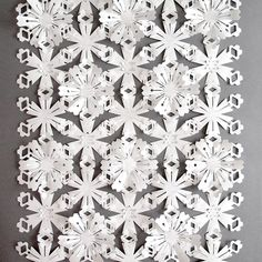 Sarah Louise Matthews - Portfolio  interlocking snowflakes/flowers