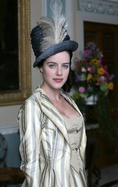 Michelle Ryan as Maria Bertram in Mansfield Park (2007). Gorgeous costume design by Mike O'Neill.