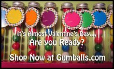 Looks like a great valentine's day gift with Gumballs!