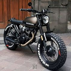 HONDA CGL 125 by zdr custom #streetscrambler #triumphbonneville #flattracker #di...- Minki Kim-#hondamotorcycle #motorcycle #Suzukimotorcycle #yamaha
