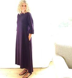 Purple Linen /Cotton