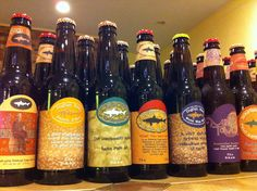 Dogfish Head is a great microbrewery out of Reheboth Beach, Delaware. Try their Black & Blue and Raison D'Etre.