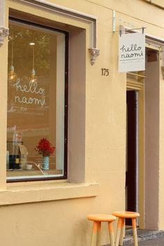 hello naomi / cake shop / newcastle, australia