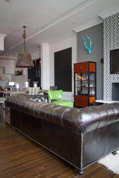 Daniel's Eclectic Industrial Loft — House Tour | Apartment Therapy