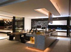 Dream House With Stylish Interior And Underground Cinema