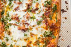 Nut-free pesto pizza via #52NewFoods and @HonestCompany