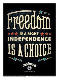 jackdaniels poster freedom small