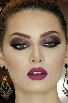Smokey Eye Makeup Ideas to Look Exceptional ★ See more: http://glaminati.com/sexy-smokey-eye-makeup/