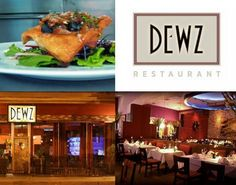 Dewz Restaurant specializes in California cuisine with asian and french infusion, and the wine list is a great addition for your dining experience. 1505 J Street  Modesto (209) 549-1101 www.dothedewz.com