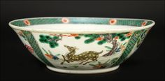 A Chinese Famille Verte Bowl. : Lot 1703142