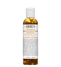 Calendula Herbal Extract Alcohol-Free Toner -- Great for troubled skin. Very refreshing. Leaves the skin soft and smooth afterwards, and the fragrance is not too strong.