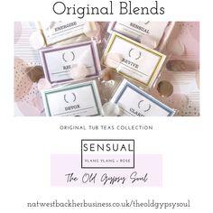 Sensual bath blend of natural salts and essential oils