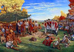 Treaty between the British and the Indians