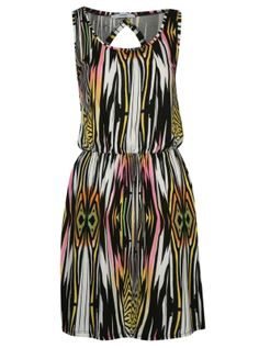 Beautiful stripes - with a funky pattern. It even looks comfy. Nice Dresses, Casual Dresses, Summer Dresses, Aztec Dress, Asda, Summer Collection, African Fashion, Party Dress, Cute Outfits