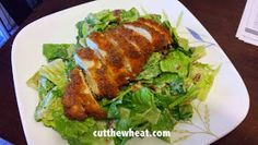 Cut the Wheat, Ditch the Sugar: Crispy Fried Chicken: Low Carb, Grain Free, Gluten Free
