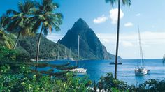 Castries, St. Lucia. Join a welcoming and professional crew aboard a beautiful racing yacht for an engaging beginner sailing lesson and exhilarating voyage around the island.