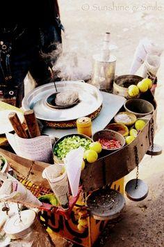 Lo street food orientale!!! India