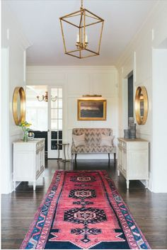 Caitlin Wilson: Home Inspiration :: Rug Styling