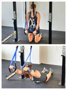 suspension trainer ab exercise (ABS)