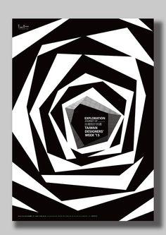 Poster series of Taiwan designers' week 2015 on Behance