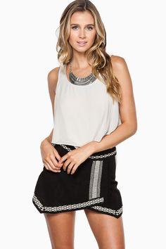 ShopSosie Style : Eliza Skort