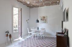 DecoMonday: un piso barcelonés rehabilitado | na sua lua